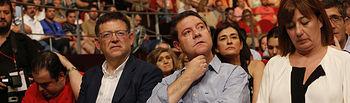 Los barones del PSOE han mostrado su apoyo al secretario general, Pedro Sánchez.