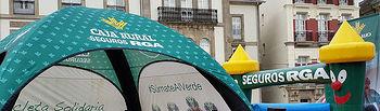 La Bicicleta Solidaria de Seguros RGA y el Grupo Caja Rural, al que pertenece Globalcaja, ya ha donado más de 14 toneladas de alimentos