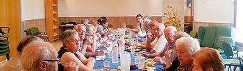 Desayuno en Villarrobledo.. Foto: Cooperativas Agro-alimentarias.