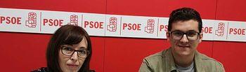Javier Boj y Salud López.
