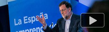 """Mariano Rajoy clausura la Convención Nacional """"La España emprendedora"""""""