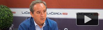 Ángel Nicolás, presidente de la Confederación de Empresarios de Castilla-La Mancha (CECAM).