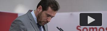 Óscar Puente,  portavoz de la Ejecutiva PSOE.