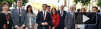 Autoridades Cabalgata Feria Albacete 2015