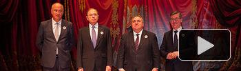 Clausura del I Congreso Internacional de Tauromaquia celebrado en Albacete.