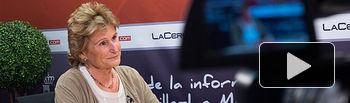 Pilar Martínez, presidenta de Manos Unidas Albacete.