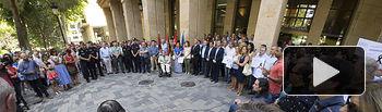 Minuto de Silencio en Albacete por el atentado de Barcelona