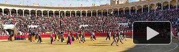 Lleno total en la Plaza de Toros de Albacete con motivo del Festival Taurino del I Congreso Internacional de Tauromaquia.