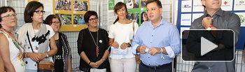 Exposición '¡¡No dejar a nadie atrás!!' (Objetivos de Desarrollo Sostenible), organizada por el Servicio de Acción Social del Ayuntamiento de Albacete