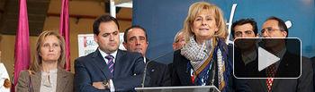 La alcaldesa de Albacete ha sido la encargada de inaugurar esta edición de Expovicaman.