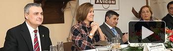 Cospedal preside la Comida Hermandad de AVICON.