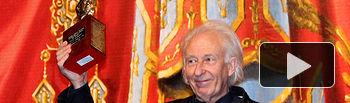 Albert Boadella en los premios AMIThE.