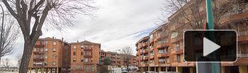 """Barrio de La Milagrosa, conocido como \""""Las 600\"""", en Albacete"""