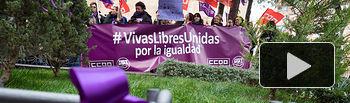 Concentración del Día de la Mujer en Albacete