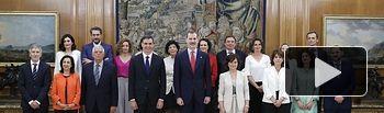 Nuevos Ministros con Pedro Sánchez