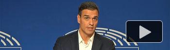 Pedro Sánchez-2 - Parlamento Europeo - 18-10