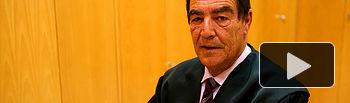 Emilio Calatayud - Juez de Menores. Archivo.