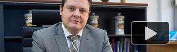 José Javier Martínez, presidente del Colegio de Farmacéuticos de Albacete