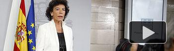 Isabel Celaà - Consejo Ministros (2) 15-06