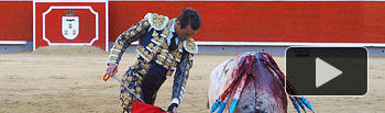 José María Manzanares en su primer - Feria de Albacete - 16-09-16