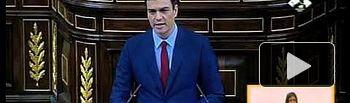 Sánchez a Rajoy: Usted pasará a la historia por la precariedad, más impuestos y Bárcenas  #DEN2015