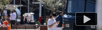 Coronavirus- Una sanitaria protegida con mascarilla. Foto: Europa Press 2020