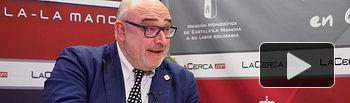 Ángel Ramírez, secretario general de la Academia de Gastronomía de Castilla-La Mancha. Foto: Manuel Lozano Garcia / La Cerca