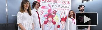 Presentación Albanime 2018