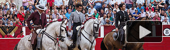Terna Rejoneadores - Corrida Feria Taurina 09-09-18