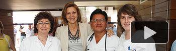 Cospedal - Inauguración Centro Salud de La Solana (Ciudad Real). 31-07-14