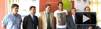 Presentación del XXX Trofeo Internacional de Tenis Ciudad de Albacete