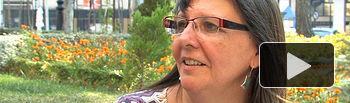 Victoria Delicado, portavoz municipal de IU en el Ayuntamiento de Albacete.