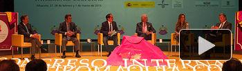 """Segunda mesa redonda del I Congreso Internacional de Tauromaquia. """"La Tauromaquia y la creación artística""""."""
