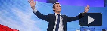 Pablo Casado en la clausura de la Convención Nacional del PP. 20-01-19