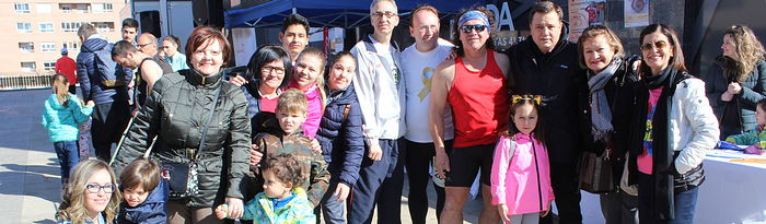 Manuel Serrano asiste a la V Carrera Solidaria del Implante Coclear.