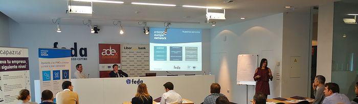 Taller de innovación que FEDA ha desarrollado dentro de Ciclo de Internacionalización