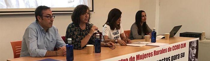 II Encuentro Mujeres Rurales CCOO CLM