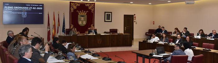 Pleno Ayuntamiento de Albacete.
