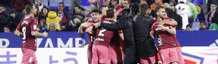 Real Zaragoza - Albacete Balompié. Foto: Albacetebalompie.com.