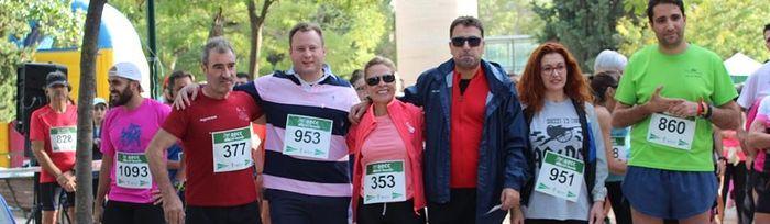La II Ruta En Marcha por la Investigación de la AECC reúne a 700 personas en Albacete.