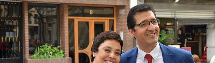 José Manuel Caballero y Pilar Zamora.