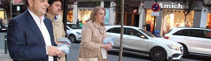 Manuel Serrano se compromete a seguir avanzando en el Plan de Peatonalización de las calles del centro de Albacete en estrecha colaboración con los residentes y comerciantes
