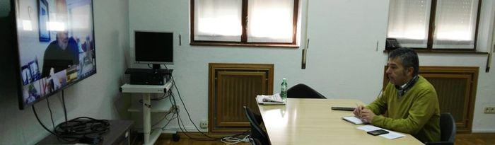 El subdelegado del Gobierno ha presidido la reunión del Centro de Coordinación Operativa provincial para la gestión del COVID-19.