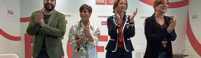 La ministra de Industria en funciones, Reyes Maroto, en Puertollano.
