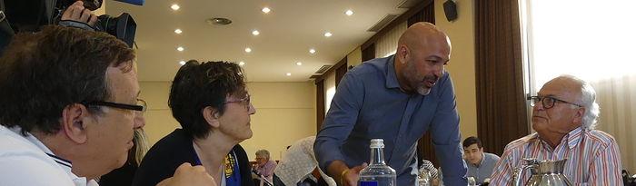 José García Molina participa en Cuenca en un desayuno con la candidata a la alcaldía Mª Ángeles García.