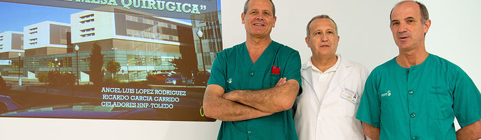 Ángel Luis López Rodríguez, Ángel  Hellín y Ricardo García Garrido