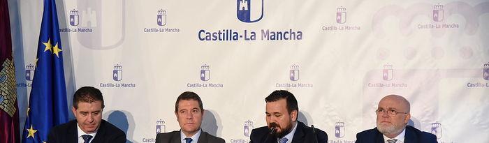 Rueda de prensa desde La Roda. Foto: Jose Ramon Marquez//JCCMM