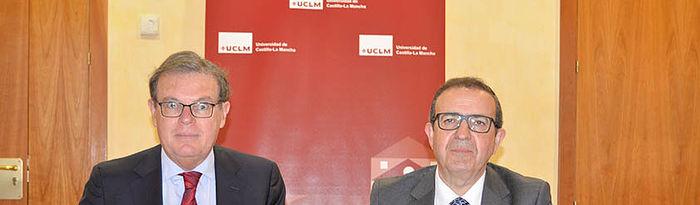 Miguel Ángel Collado; y el director de Alpinia, Ángel Villodre.