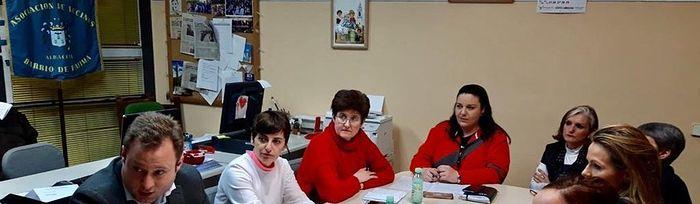 Reunión con la Asociación de Vecinos de Fátima.