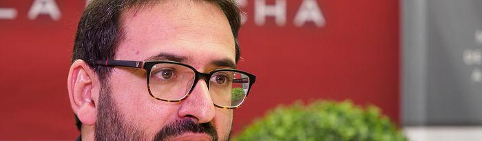 Sergio Gutiérrez, secretario de Organización del PSOE de Castilla-La Mancha y diputado nacional por Toledo. Foto: Manuel Lozano Garcia / La Cerca